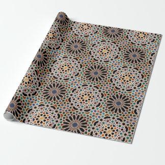 Tegels van Alhambra Inpakpapier