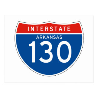 Teken tusen staten 130 - Arkansas Briefkaart