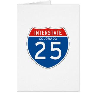 Teken tusen staten 25 - Colorado Briefkaarten 0