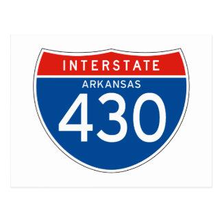 Teken tusen staten 430 - Arkansas Briefkaart