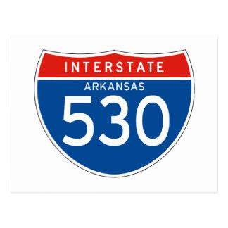 Teken tusen staten 530 - Arkansas Briefkaart