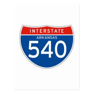 Teken tusen staten 540 - Arkansas Briefkaart