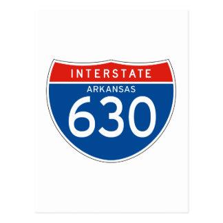 Teken tusen staten 630 - Arkansas Briefkaart