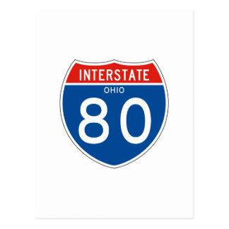 Teken tusen staten 80 - Ohio Briefkaart