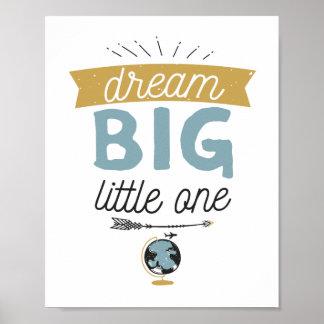 Teken van het Avontuur van de droom het Grote Poster