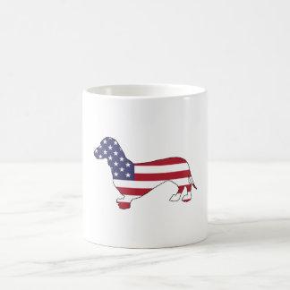 """Tekkel """"Amerikaanse Vlag """" Koffiemok"""