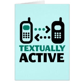 Tekstueel Actief Briefkaarten 0