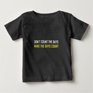 Tel niet het Citaat van Dagen Baby T Shirts