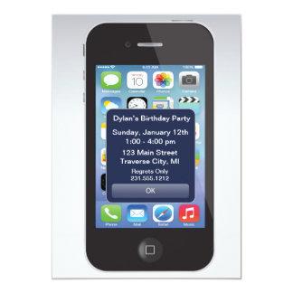 telefoon van de Cel van Texting van de Partij van Kaart