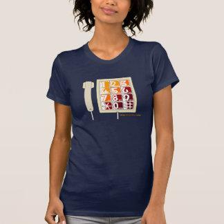telefoon van de Knoop van de jaren '80 Retro Grote T Shirt