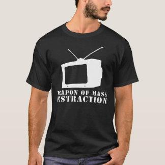 televisie wapen van massaafleiding t shirt