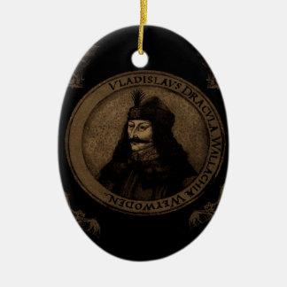 Telling Vlad Dracula Keramisch Ovaal Ornament