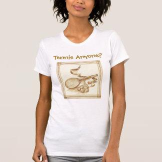 Tennis iedereen? t shirt
