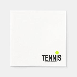 Tennis Papieren Servetten