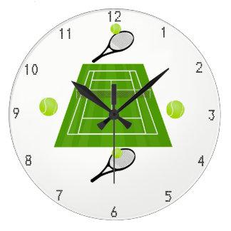 Tennis Wallclock Grote Klok
