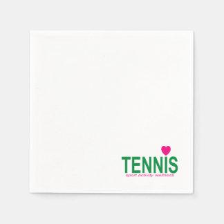 Tennis Wegwerp Servet