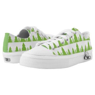 Tennisschoen van het Bos van het Land van de Boom Low Top Schoenen