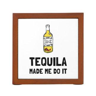 Tequila maakte me het doen pennenhouder