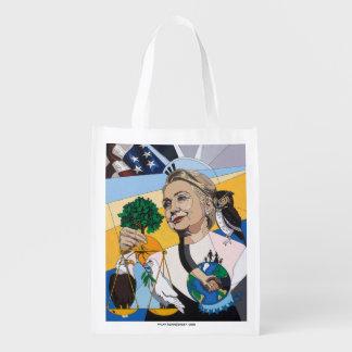 Ter ere van Hillary Clinton Boodschappentas