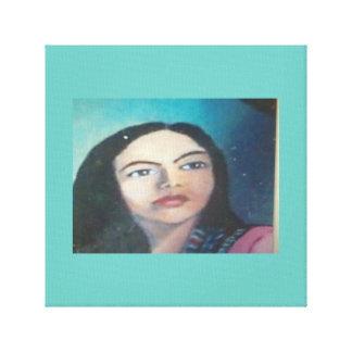 Teresa DE Mexico Gallerij Wrapped Canvas