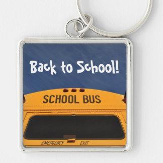 Terug naar de Bus van de School Sleutelhanger