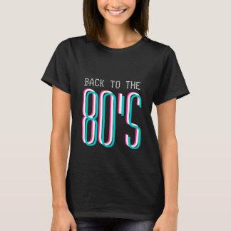 Terug naar de t-shirt van de de jaren '80partij de