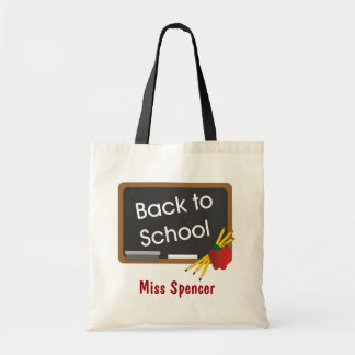 Terug naar het Canvas tas van de School