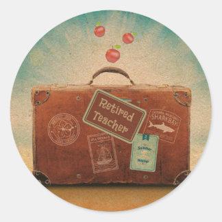 Teruggetrokken Leraar, Meer Tijd te reizen Ronde Sticker
