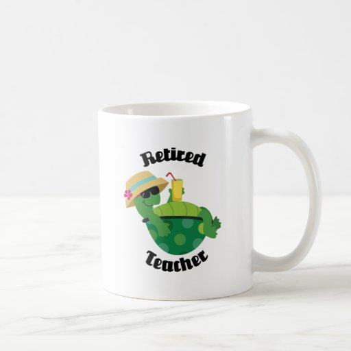 Teruggetrokken Leraar (Schildpad) Koffie Mokken