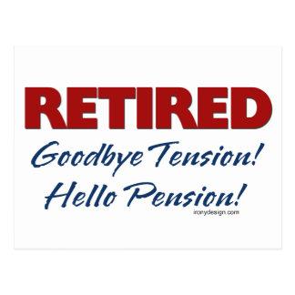 Teruggetrokken: Vaarwel het Pensioen van Hello van Briefkaart