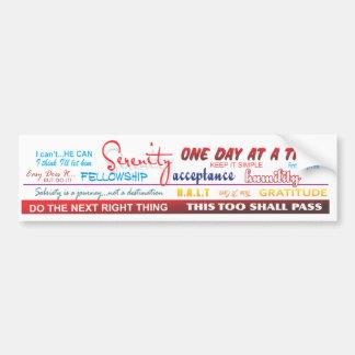 terugwinnings slogans bumpersticker