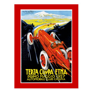 Terza Coppa Etna Briefkaart