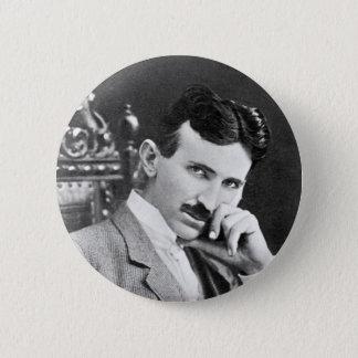 Tesla de Knoop van het Genie Ronde Button 5,7 Cm