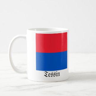 Tessin, de Vlaggen van Schweiz Fahnen Koffiemok