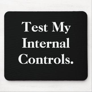 Test Mijn Interne Controles - Ruw Kantoor Mousepad Muismatten
