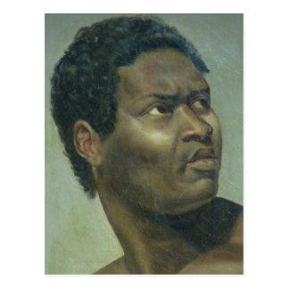 Tête DE Nègre (Hoofd van een Zwarte) door Gros Briefkaart