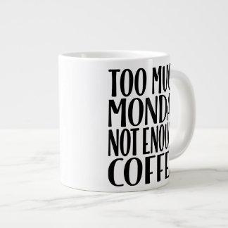Teveel Maandag niet Genoeg Mok van de Koffie van