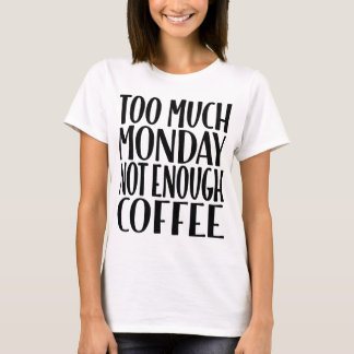 Teveel Maandag niet Genoeg Witte T-shirt van de