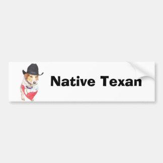 Texan inwoner bumpersticker