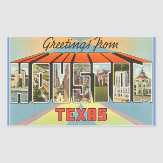Texas, Blad van 4 stickers van Houston