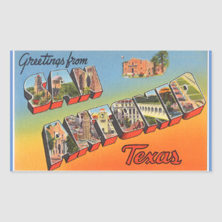Texas, Blad van 4 stickers van San Antonio