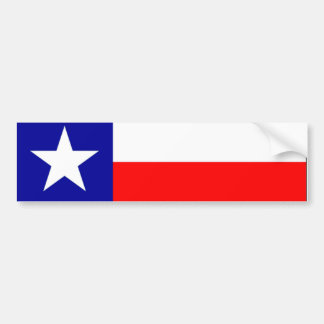 Texas Bumpersticker