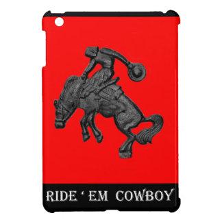 Texas die de Cowboy .jpg hardnekkig verzetten iPad Mini Cover