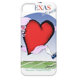 Texas hoofdhart, tony fernandes barely there iPhone 5 hoesje