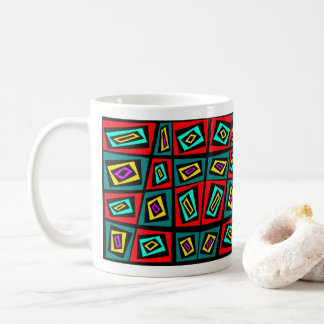 Textiel Ontwerp door Blaise Gauba Artist Koffiemok
