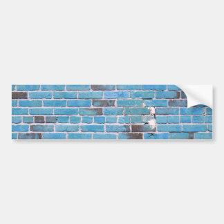 Textuur van de Bakstenen muur van de hemel de Bumpersticker