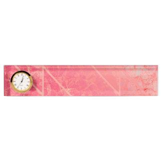 Textuur van het Naambord van het bureau de Roze