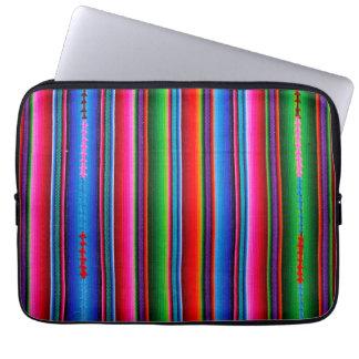 Textuur van Mexicaanse Stof Computer Sleeve