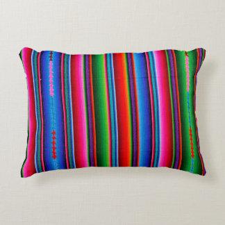 Textuur van Mexicaanse Stof Decoratief Kussen