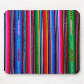 Textuur van Mexicaanse Stof Muismat